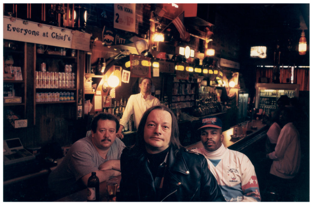 bar patrons     ~   for magazine article about iconic Pittsburgh neighborhood bars