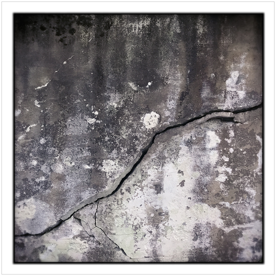 crack in the wall   ~ (embiggenable) • iPhone