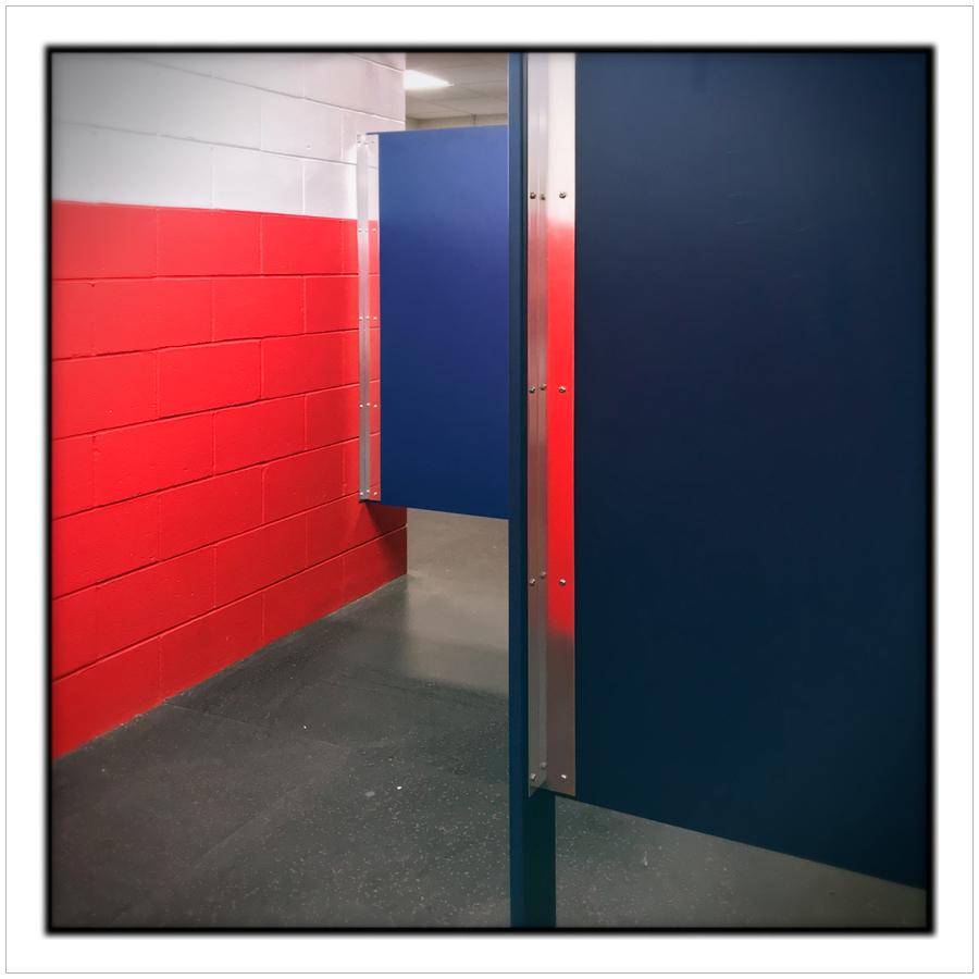 hockey rink bathroom   ~ Canton, MA. (embiggenable) • iPhone