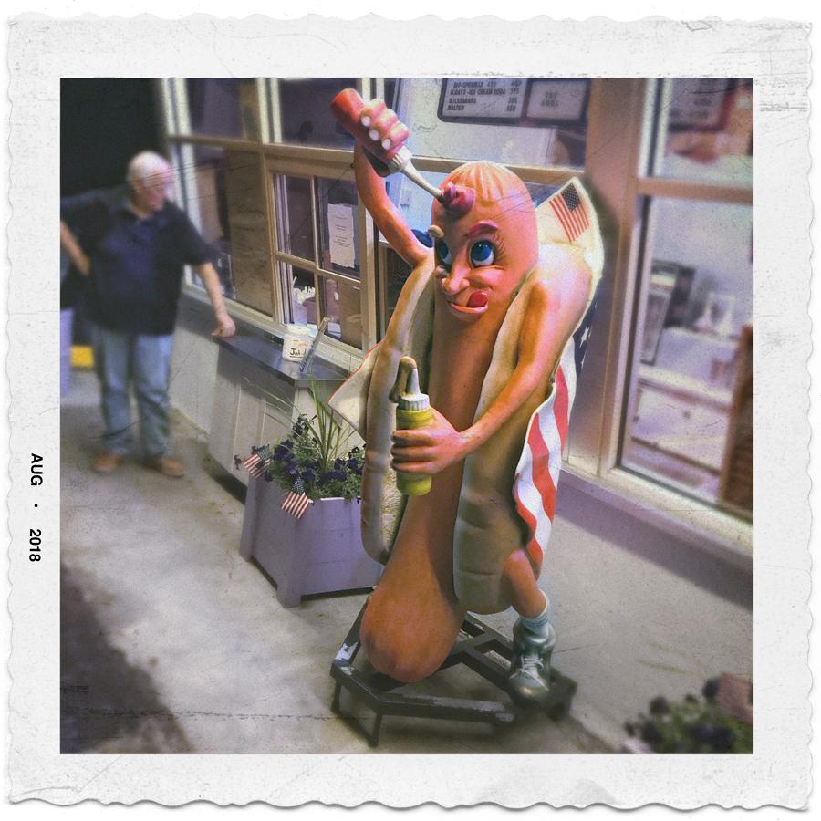 hot dog guy   ~ (embiggenable) • iPhone