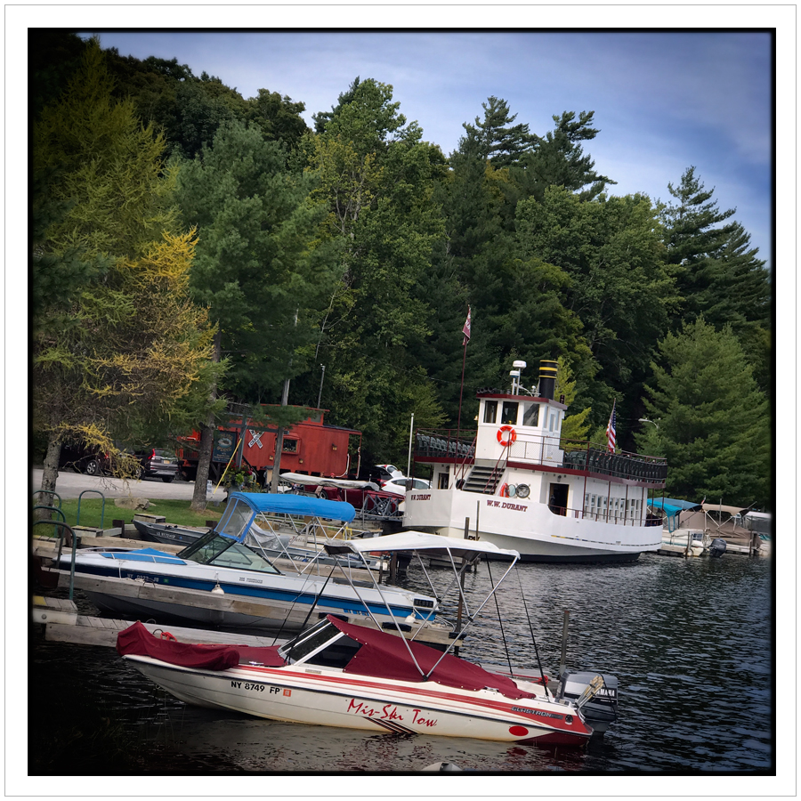 Raquette Lake dock   ~ Adirondack PARK, NY (embiggenable) • iPhone