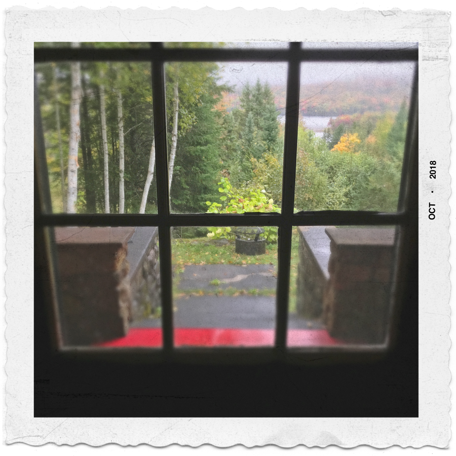 door window   ~ Rist Camp / Adirondack PARK - (embiggenable) • iPhone
