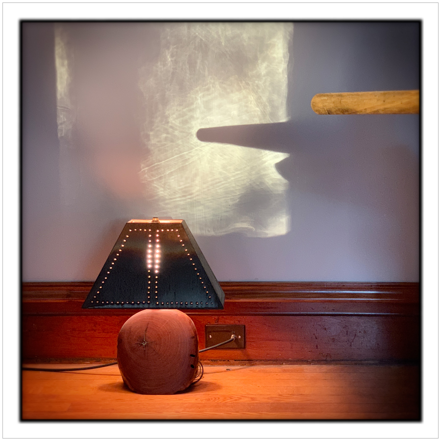 light thru window + lamp   ~ (embiggenable) • iPhone
