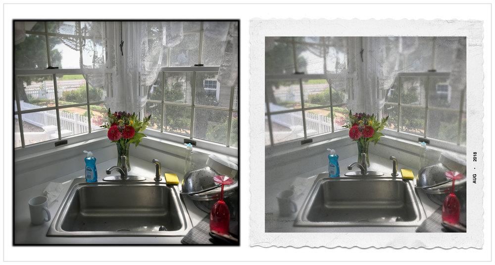 picture window   ~ Stone Harbor, NJ (embiggenable) • iPhone
