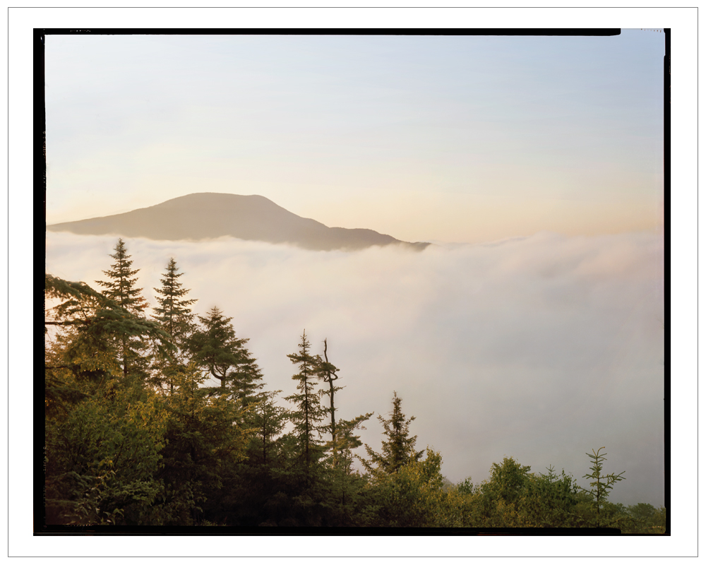 Sunrise from Castle Rock   ~ Blue Mt. Lake, NY -(embiggenable) • 8x10 Arca Swiss view camera