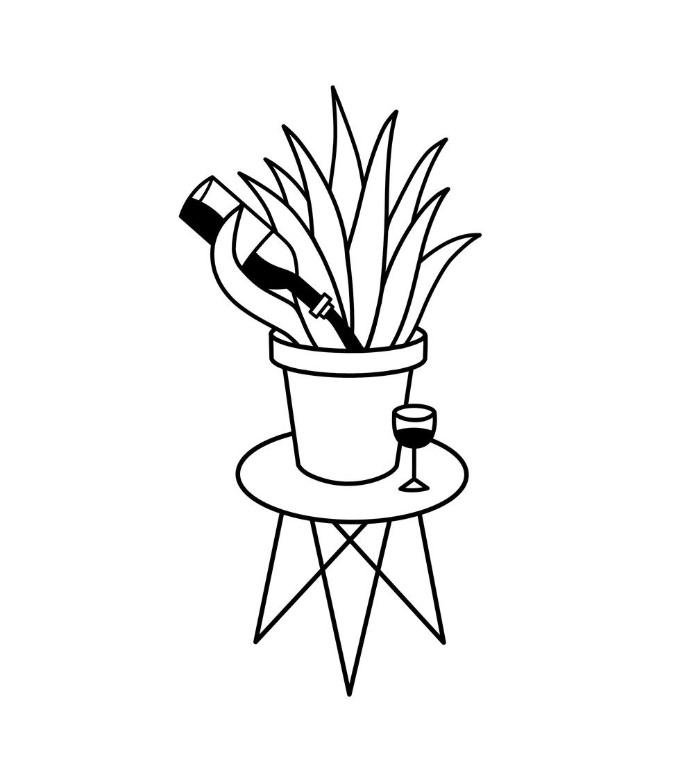 Plants Alone
