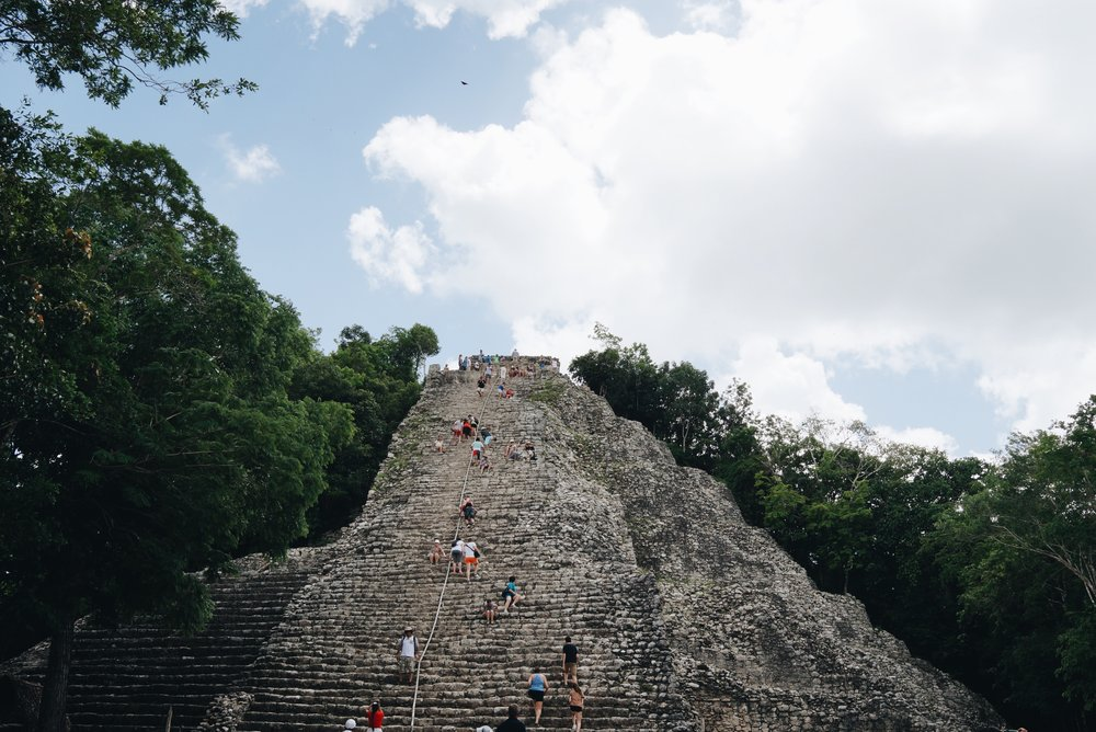 Coba Ruins Ixmoja Pyramid
