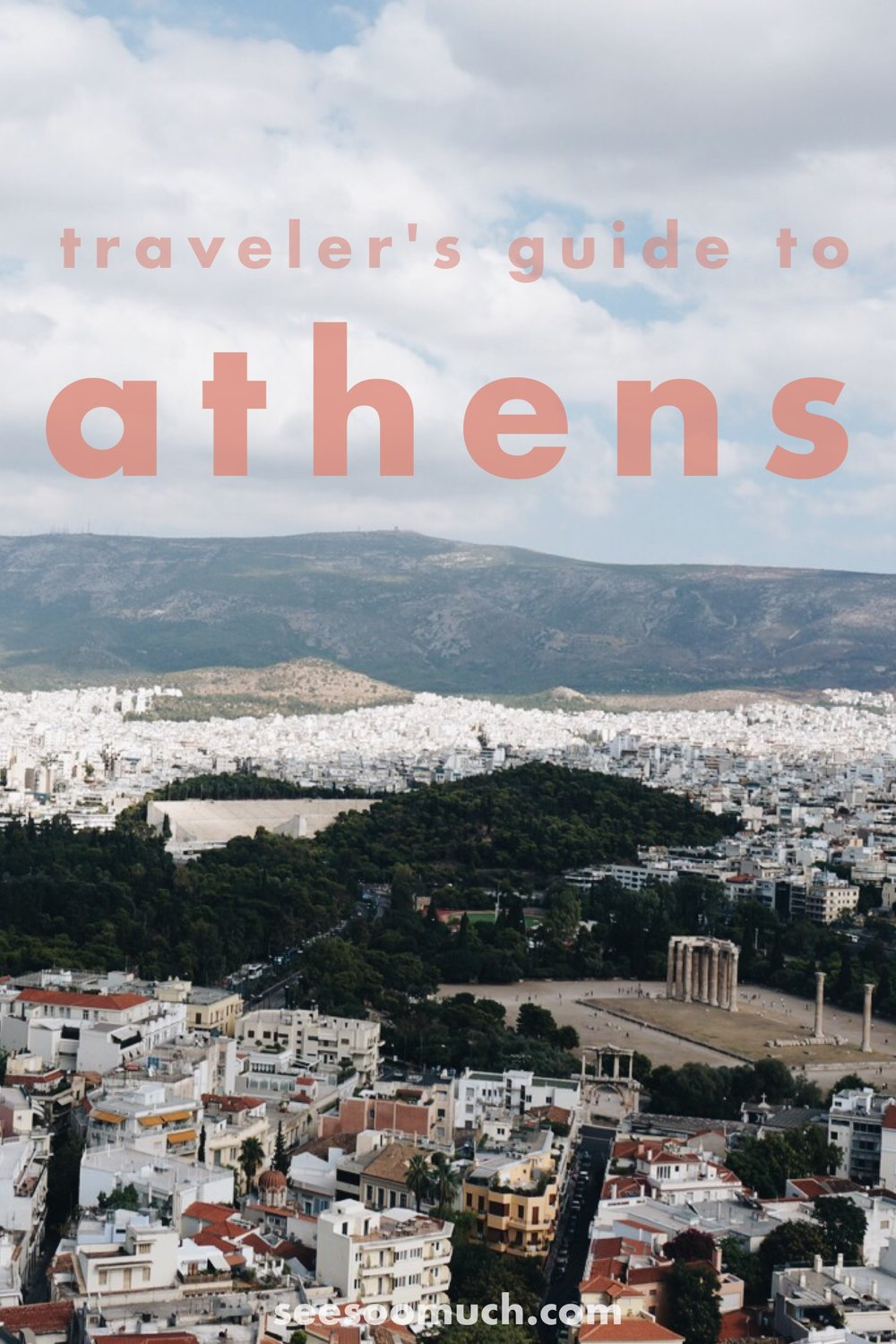 See Soo Much of Athens Greece!