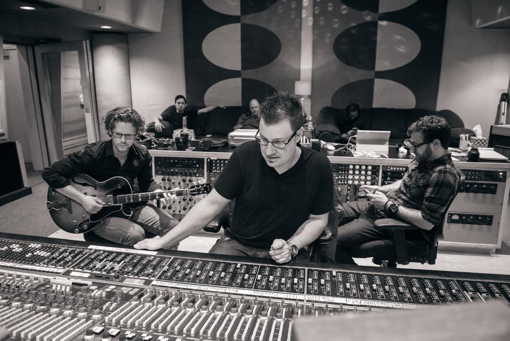Strangers On A Saturday Night album session - Ocean Recording, Burbank  Photo Credit - Michael Stever