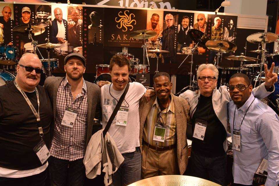 Sakae Drums Autograph Signing - NAMM Show, Anaheim