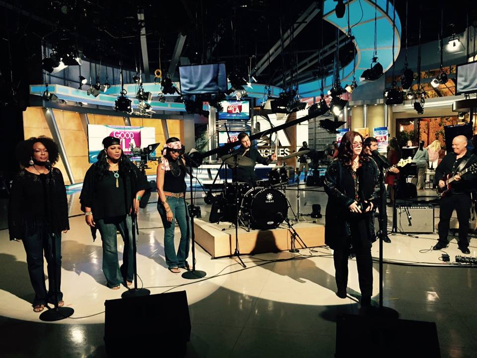 "Good Day LA ""A Night With Janis Joplin"" performance - FOX Studios, Los Angeles"