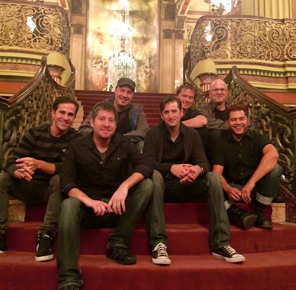 """Carrie - The Musical"" band - aka ""The Dirty Pillows"" - The Los Angeles Theater, Los Angeles"