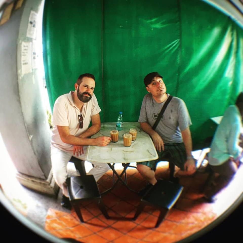 Pulled Tea with Jamie Hovorka - Paul Anka tour, Singapore