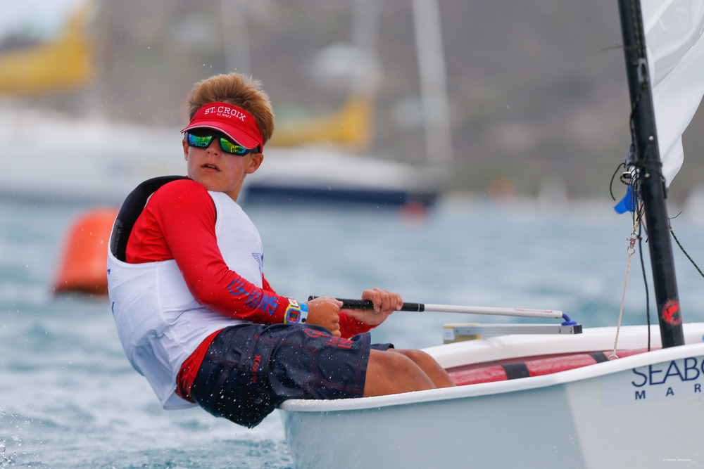 Steven hardee competes internationally at OPTINAM in Antigua