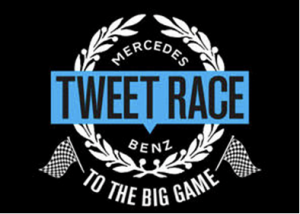 Mercedes Benz Tweet Race