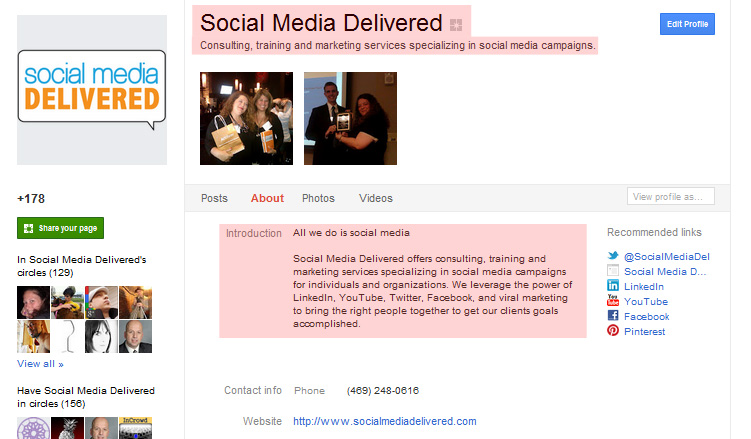Social Media Delivered, social media, Google Plus, Google+
