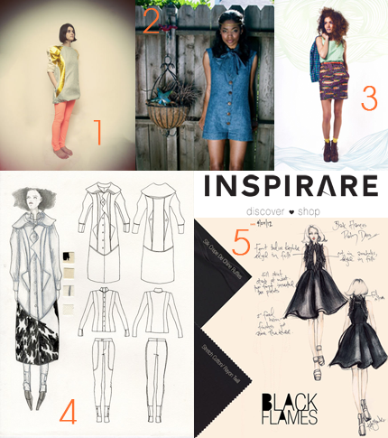 Inspirare, Social Media Delivered, social media fashion, designer social network