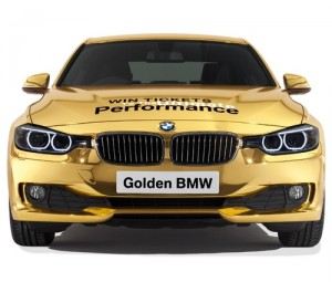 BMW golden, Social Media Delivered, social media Olympics