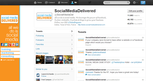 Twitter layout, Twitter, Social Media Delivered, social media