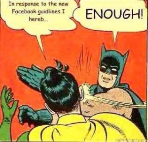 Batman Facebook Privacy Meme
