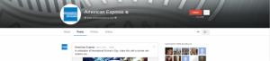 Google+ AMEX