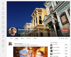 Google+ header pixel size