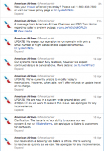 american airlines twitter