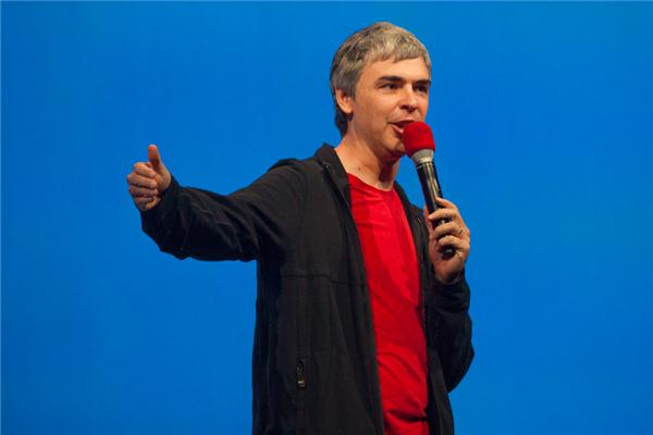 Google CEO Larry Page at Google I/O 2013