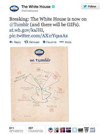 white house on tumblr