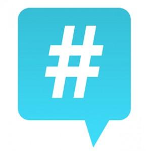 Hashtag on twitter.
