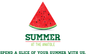 Watermelon slice of summer at the Anatole.