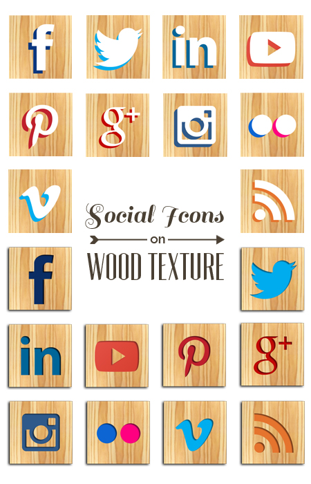 Wood Icon Set
