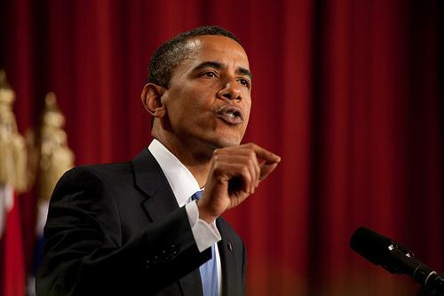 Obama Talking