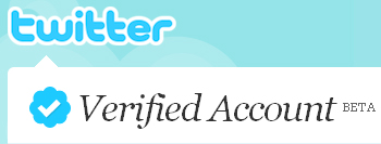 Twitter Verified Account Beta Program Check Logo