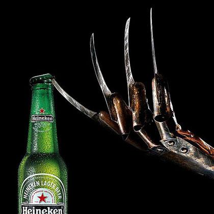 Heineken Freddy Krueger Halloween Ad