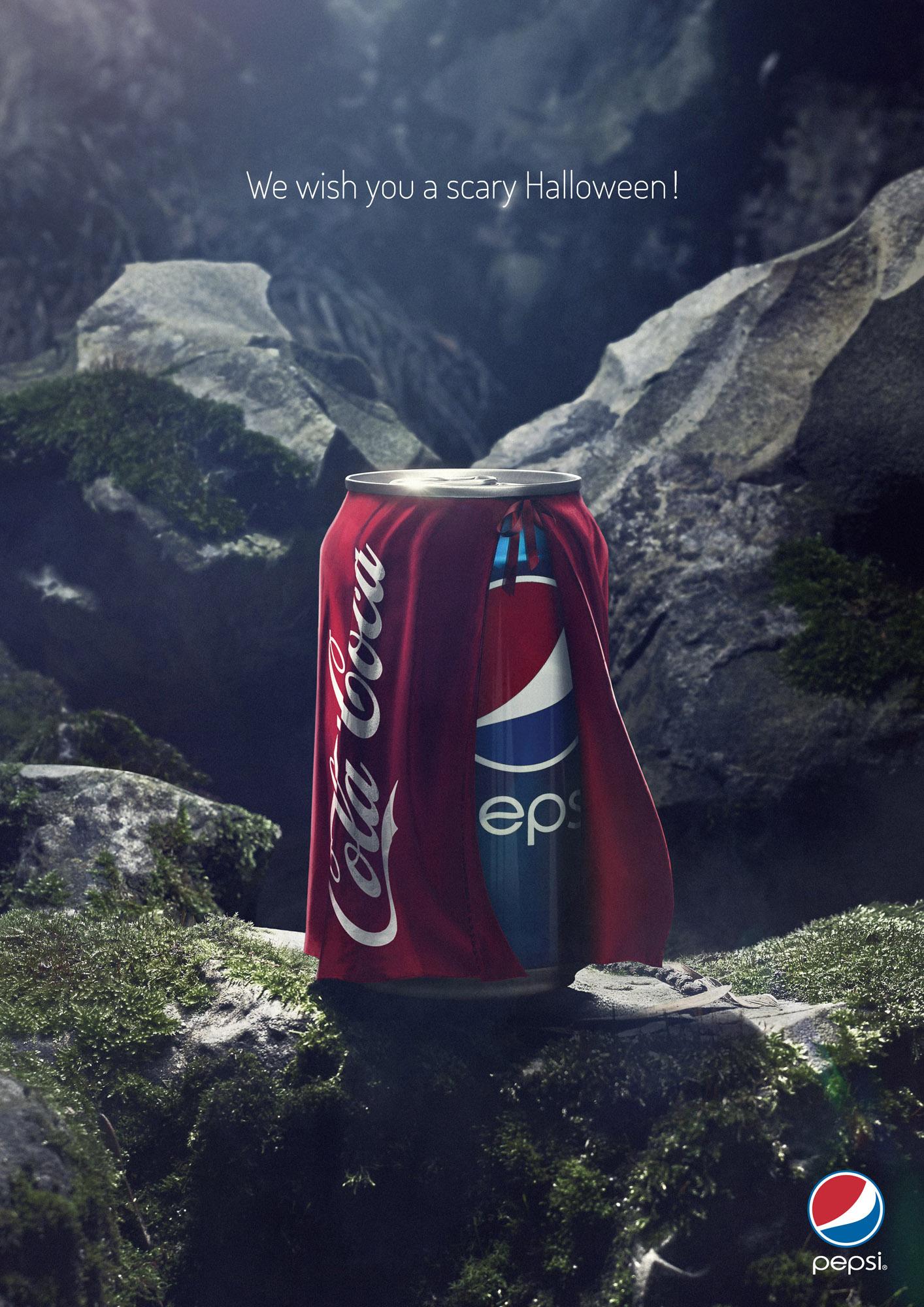 Pepsi Cola Halloween Ad
