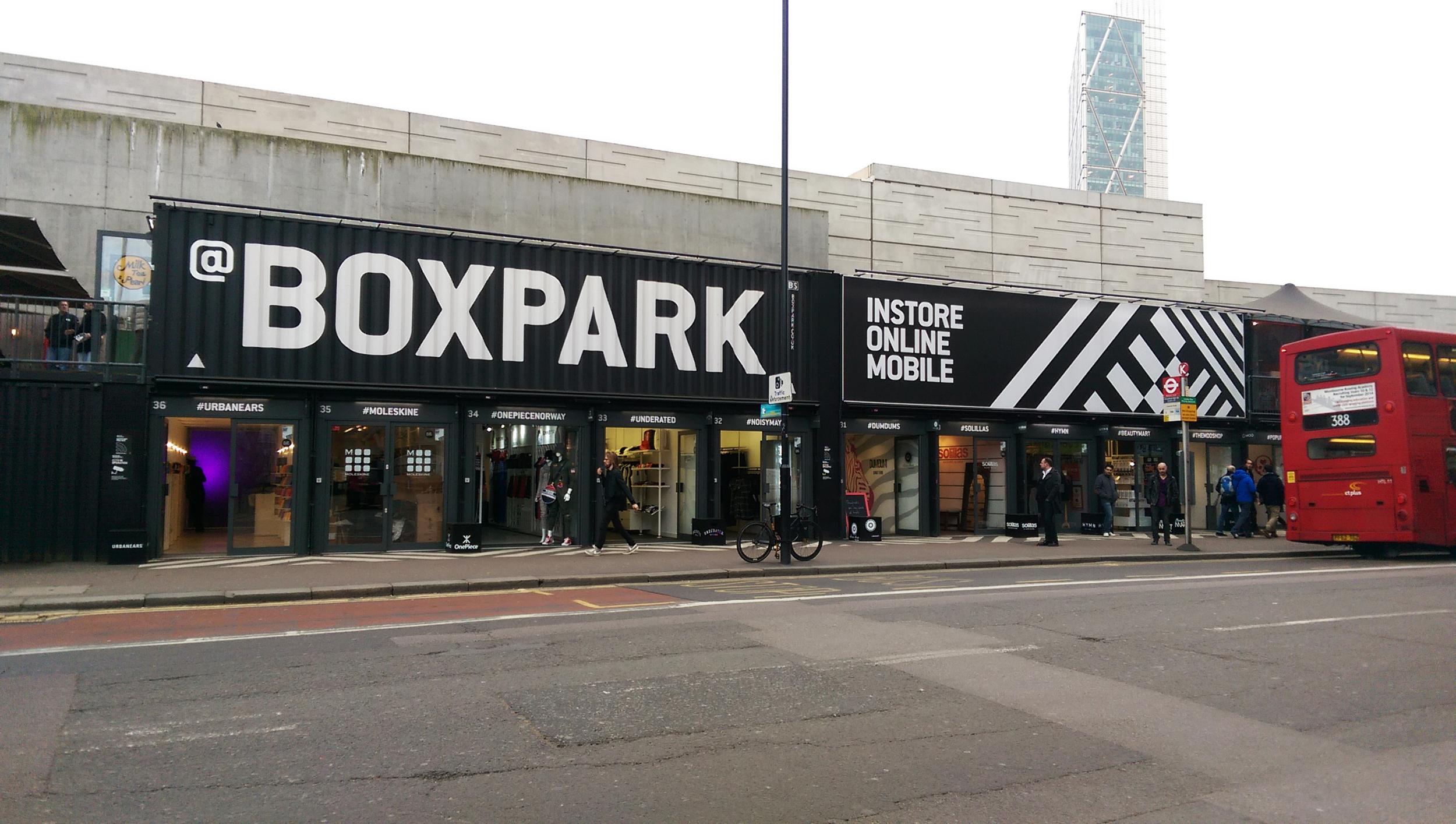 Box Park London