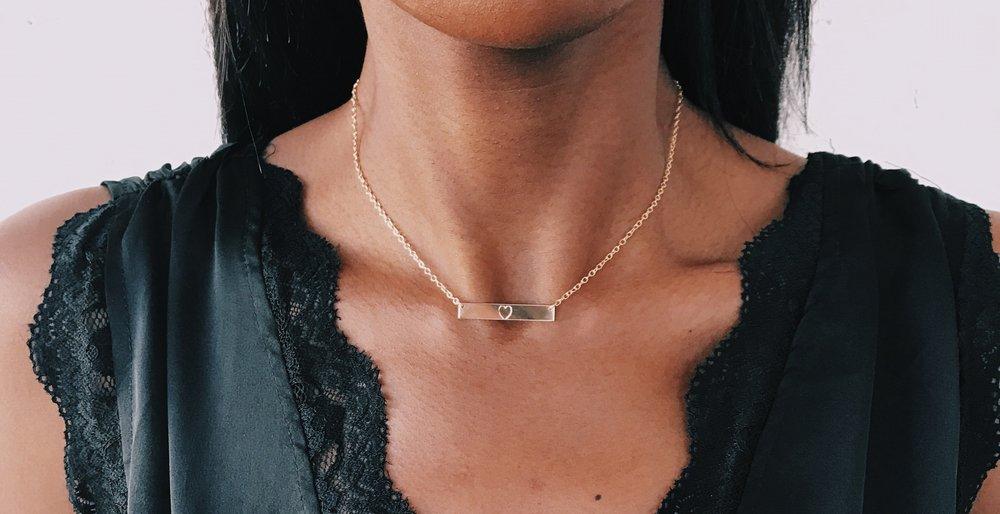 Bar Necklaces -