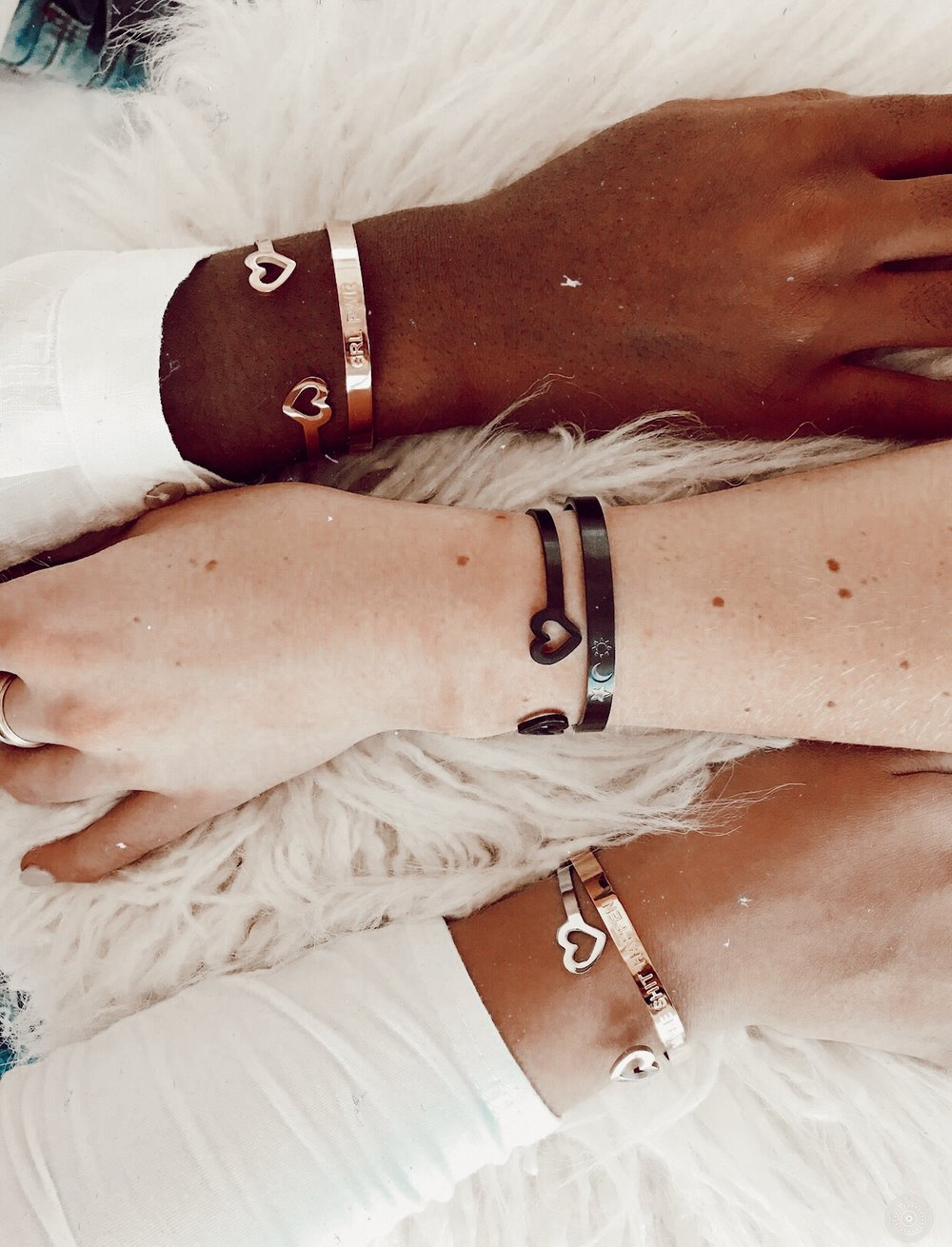 arm candy - cuffs for all babes