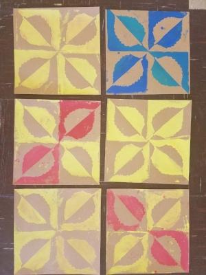 Mathematics Product: Patterning Symmetry - Multiplication Array