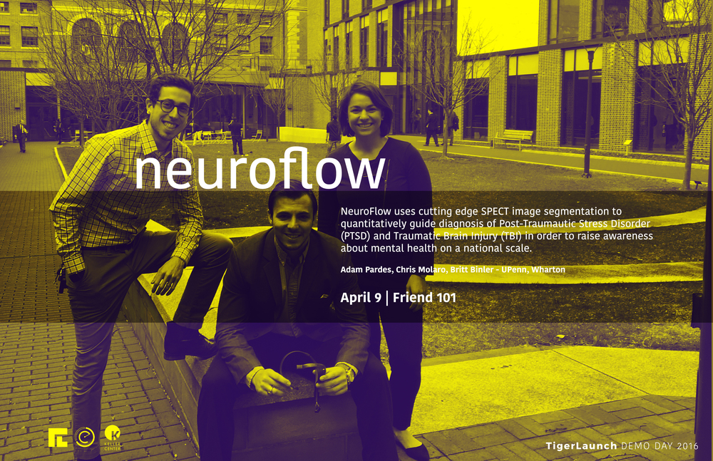 With proprietary 3D medical imaging and registration technology, NeuroFlow aggregates MRI and SPECT images to guide doctors for the first time ever in a quantitative manner for Post Traumatic Stress Disorder & Traumatic Brain Injury Diagnoses.