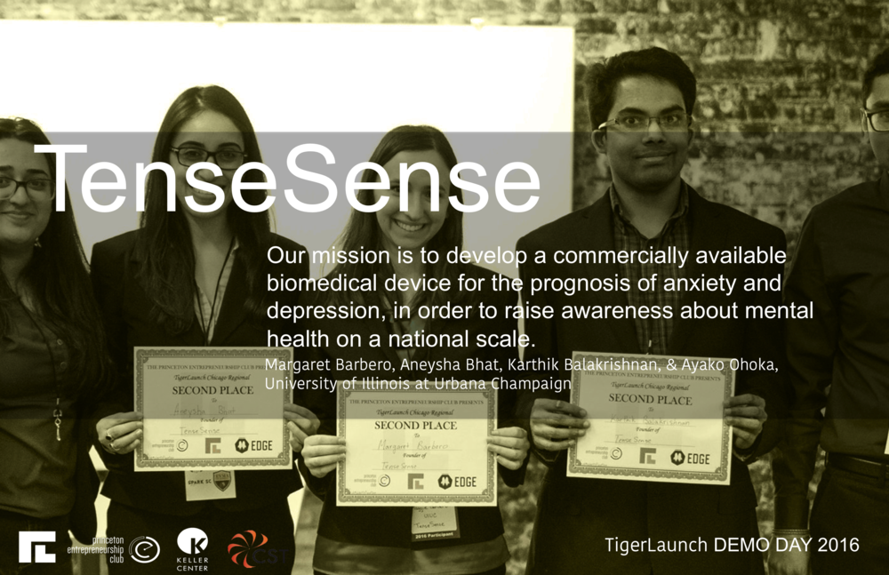 Our device is a point-of-care, low-cost sensor for analyzing a hormone that is released in response to stress. Ultimately our device will be utilized as a prognostic tool to identify anxiety and depression, facilitating patient treatments.   Through this device we aim to measure elevated levels of stress. Stress is a critical contributor to the development of mental illness and stress-related disorders including anxiety and depression. Given that there is a link between hormone release and stress levels our device aims to provide a systematic and translational approach for sensitive detection of such hormones of interest. One of the shortcomings with current techniques is their limitation in capturing chronic levels of stress hormones that expressed when individuals are stressed since they have to be performed in a hospital. Additionally these tests require expensive equipment and lab professionals, restricting its use. Our device will be easy to use so that anyone from a school nurse, to psychiatrists, to adolescents.