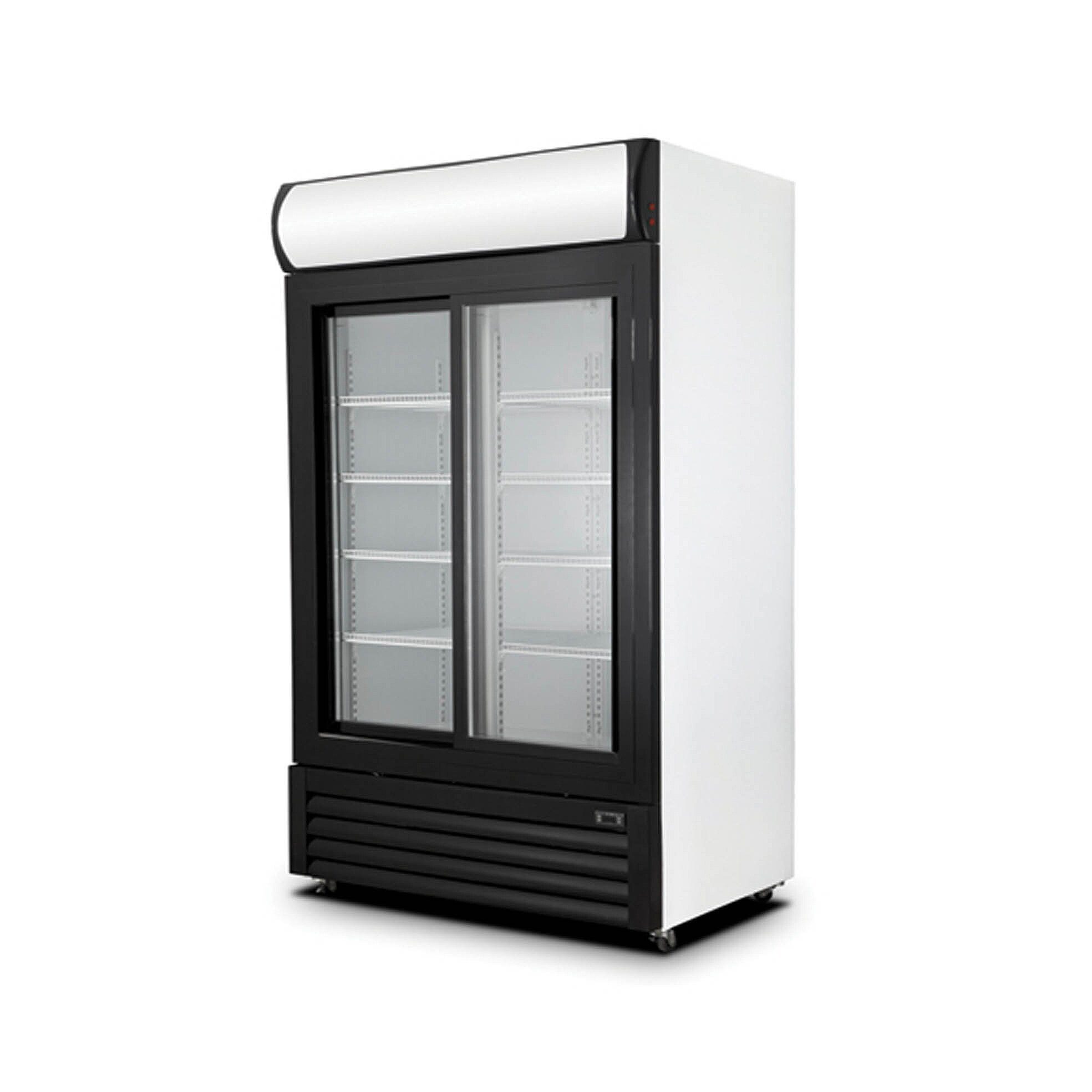 New Air Ngr 080 S 40 2 Sliding Door Glass Refrigerator Merchandiser