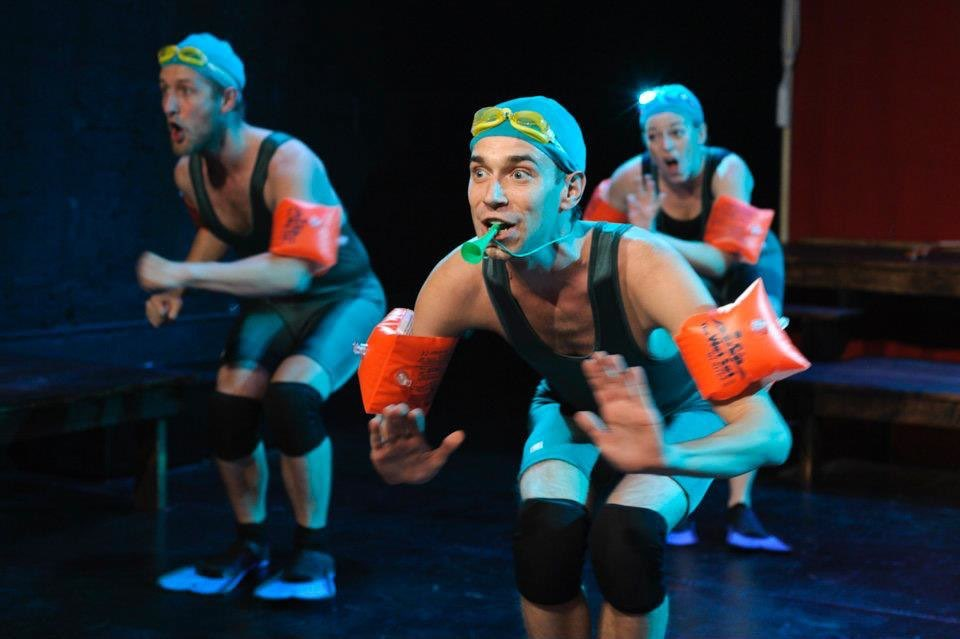 Karl Gregory  in  Frogs  (photo by Jacob J. Goldberg)
