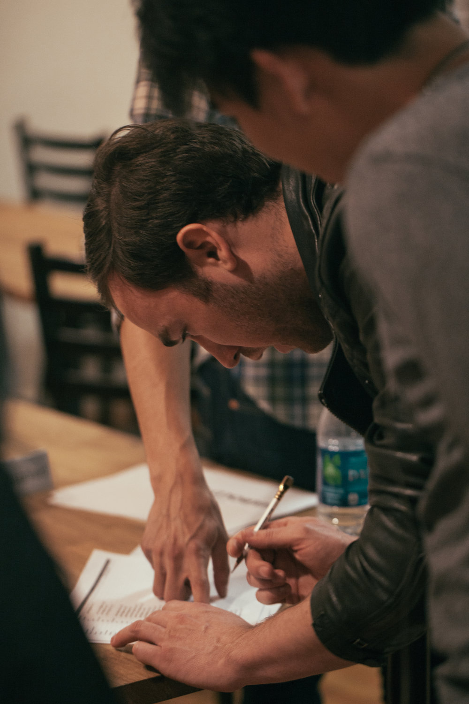Senior Producer John Racioppo. Photo by Katherine Oostman.