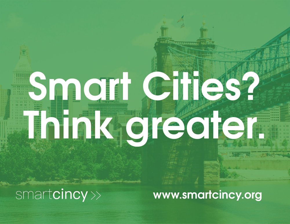 Smart City leaders from Ohio, Kentucky, and Indiana are collaborating to launch Regional Smart Cities Initiatives collaboratively at The Smart Cincy Summit on April 25th, 2017.