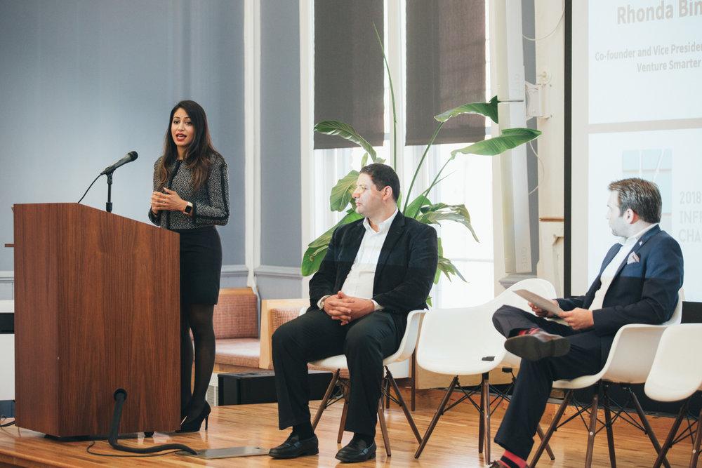 Venture Smarter's Rhonda Binda,Mitch Kominsky and Zack Huhn
