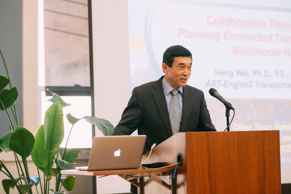 Dr. Heng Wei - Professor of Intelligent Transportation Engineering, University of Cincinnati