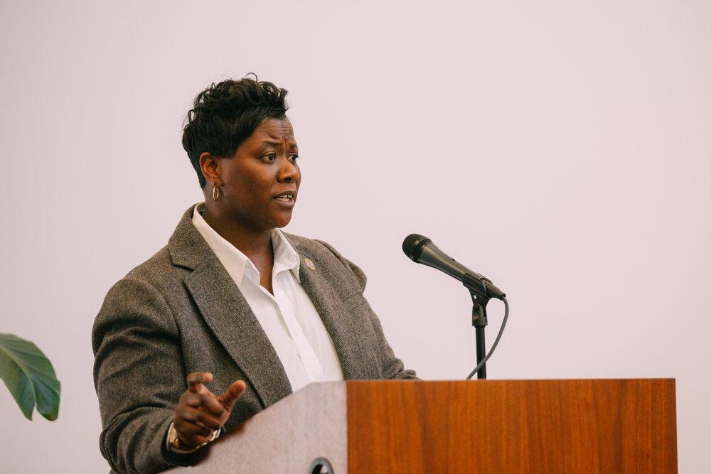 Councilmember Tamaya Dennard