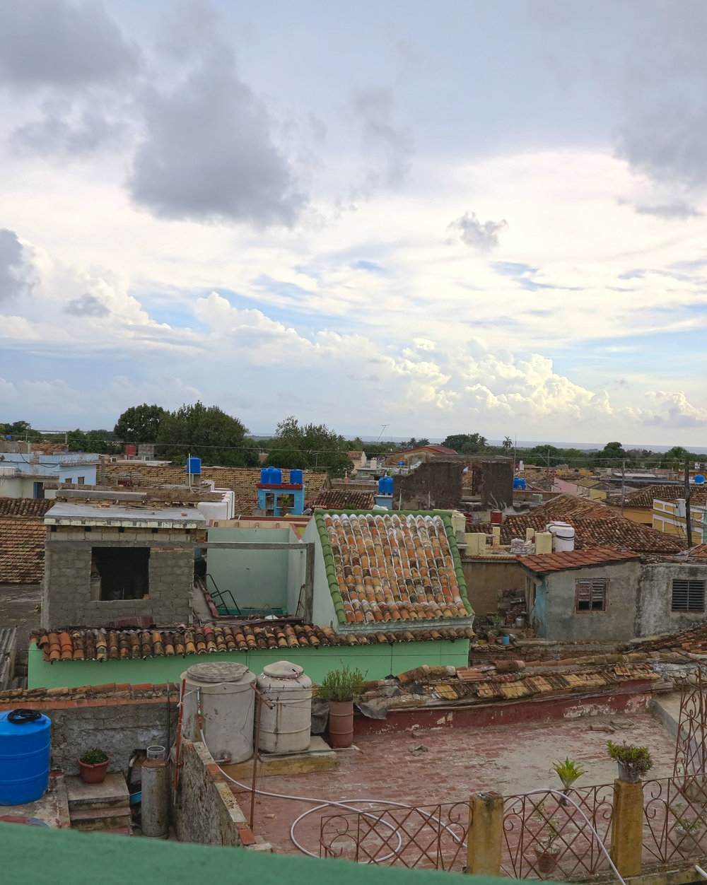 Roof Top view of Trinidad, Cuba